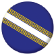 Champagne-Ardenne Province Flag 25mm Pin Button Badge
